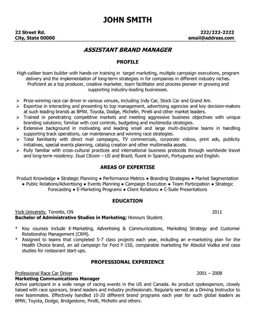 Resume Cover Letter For Product Manager | Online Resume Builder Au