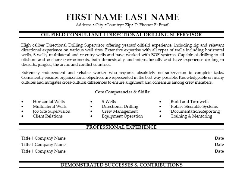 Writing in College - 5 But what if you get stuck? oilfield resume