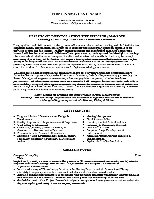 Healthcare Resume Templates, Samples  Examples Resume Templates 101 - healthcare resume template