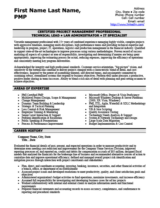 Financial Manager Resume Template Premium Resume Samples  Example - lan administrator resume