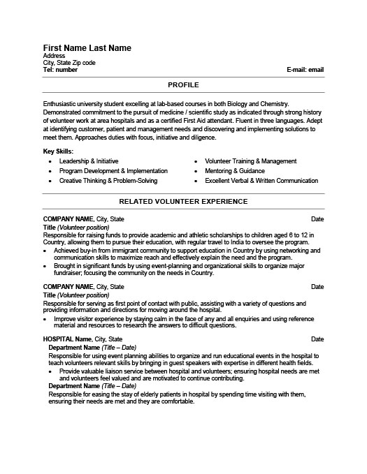 Health Care Worker Resume Template Premium Resume Samples  Example
