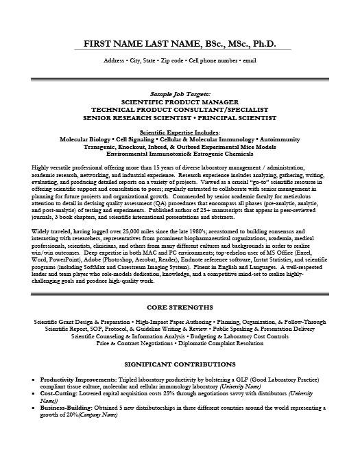 Scientific Product Manger Resume Template Premium Resume Samples - product consultant sample resume