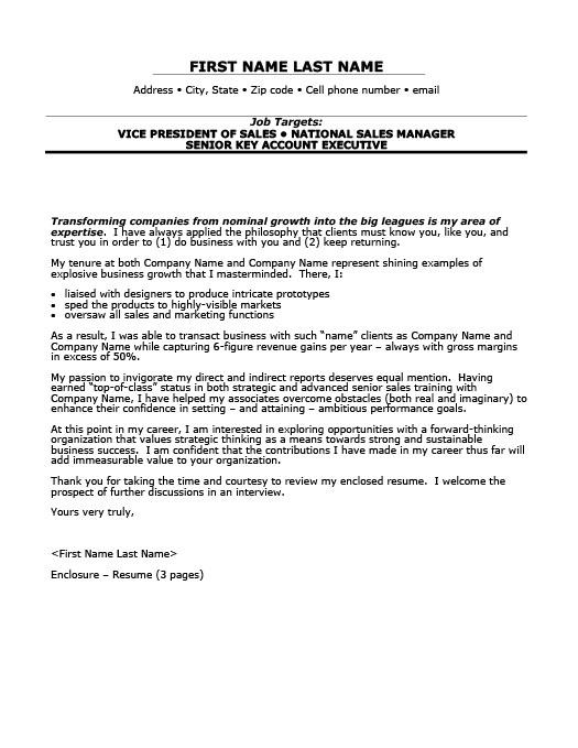 Vice President of Sales Resume Template Premium Resume Samples