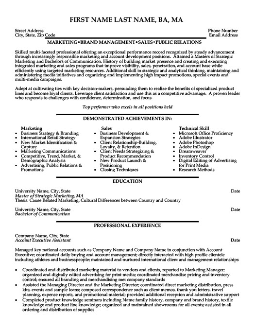 Account Executive Assistant Resume Template Premium Resume Samples - Executive Assistant Resume Templates