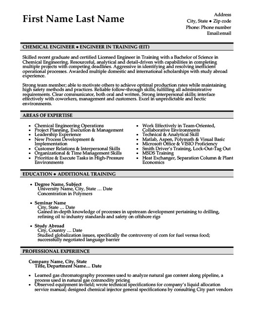 Chemical Engineer Resume Template Premium Resume Samples  Example - chemical engineer resume examples
