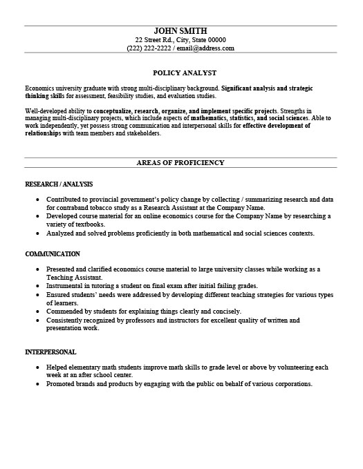 Policy Analyst Resume Template Premium Resume Samples  Example - resume analyst