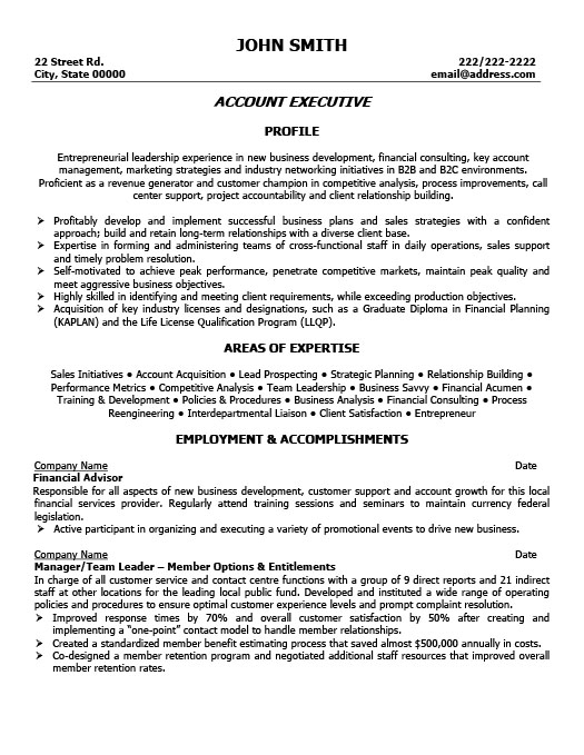 Account Executive Resume Template Premium Resume Samples  Example - oil and gas resume