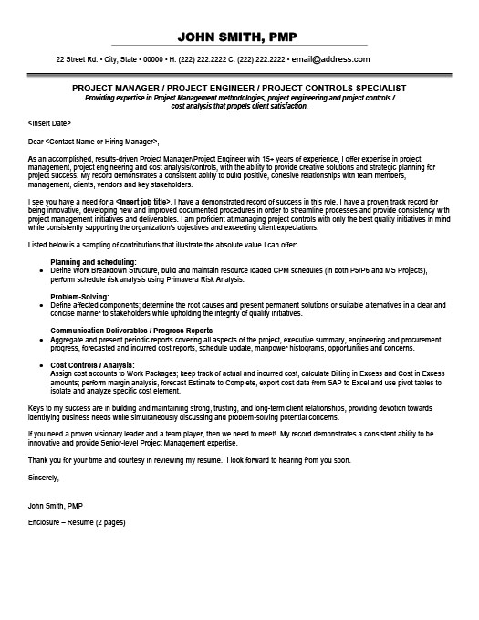 Project Controls Specialist Resume Template Premium Resume Samples
