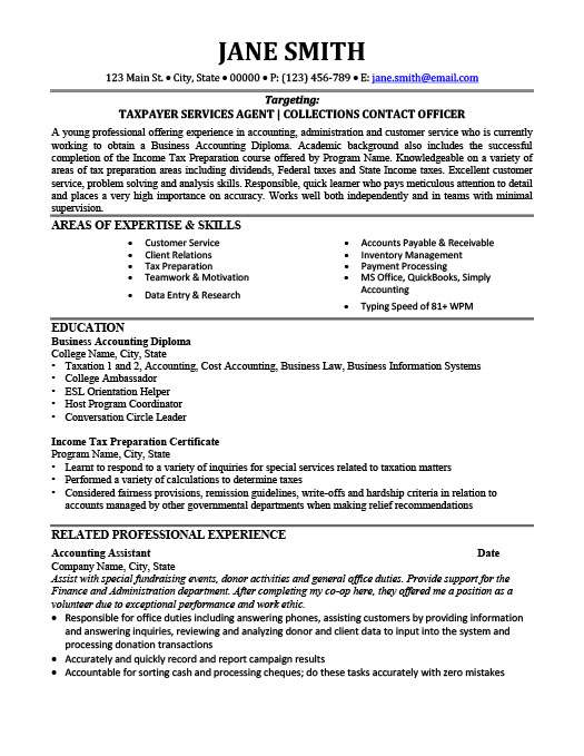 Tax Consultant Resume Template Premium Resume Samples  Example - Tax Consultant Resume