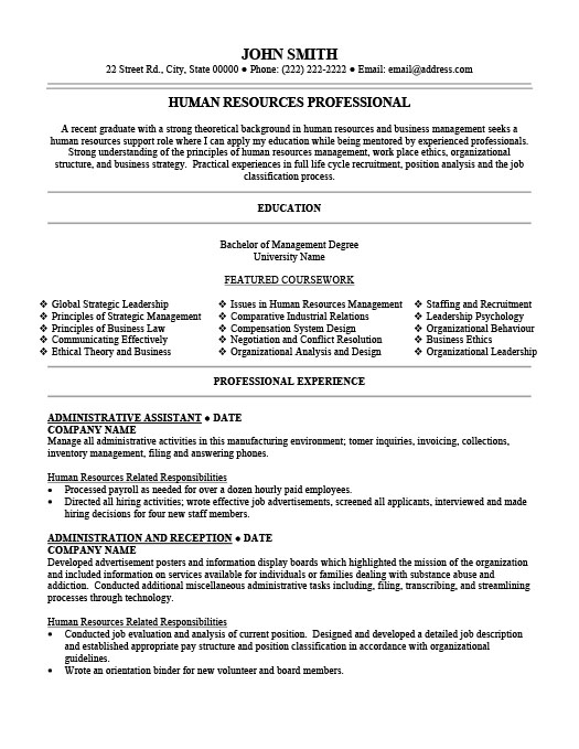 Administrative Assistant Resume Template Premium Resume Samples