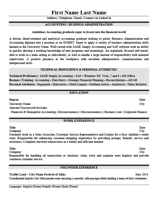 Property Accountant Resume Property Accountant Resume Template - property accountant resume