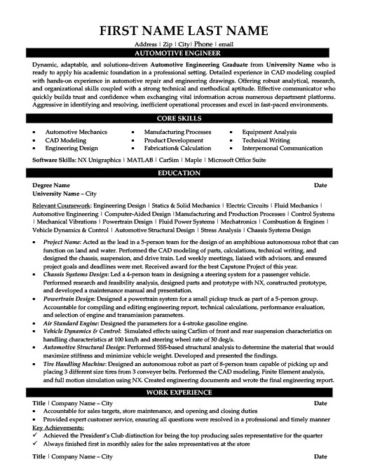 Narrative nonfiction - Writers and Editors engineering technical - Engineer Resume Template