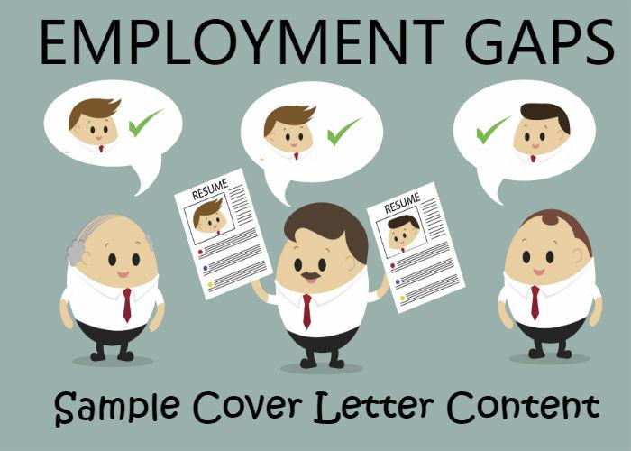 Sample Cover Letter Content That Explains Employment Gaps