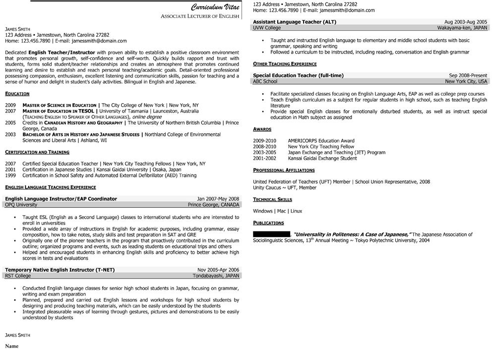 Sample Civilian and Federal Resumes - Resume Valley - environmental scientist resume