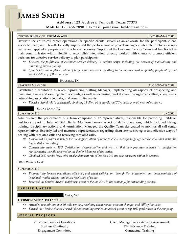 Sample Civilian and Federal Resumes - Resume Valley - ticket collector sample resume