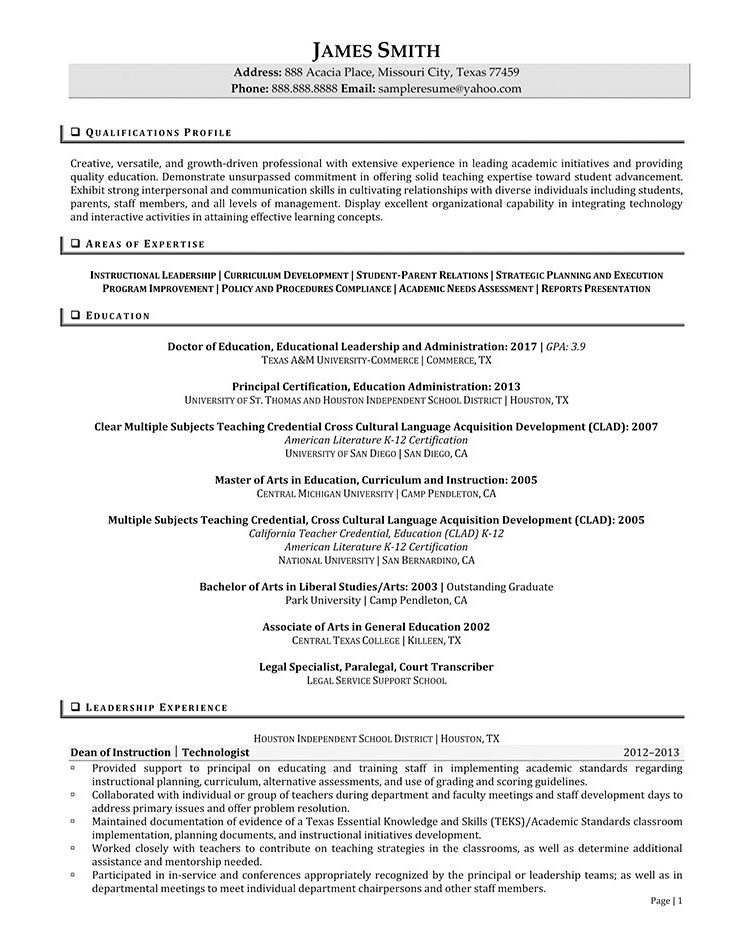 Sample Civilian and Federal Resumes - Resume Valley - retail administrator sample resume