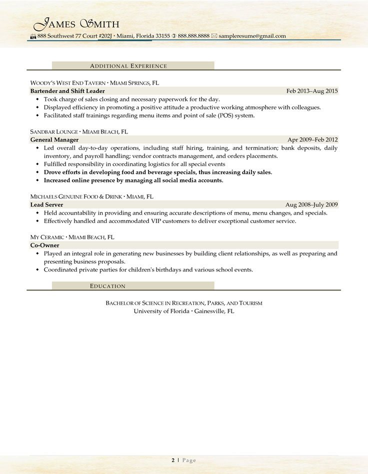 Sample Civilian and Federal Resumes - Resume Valley - court administrator sample resume