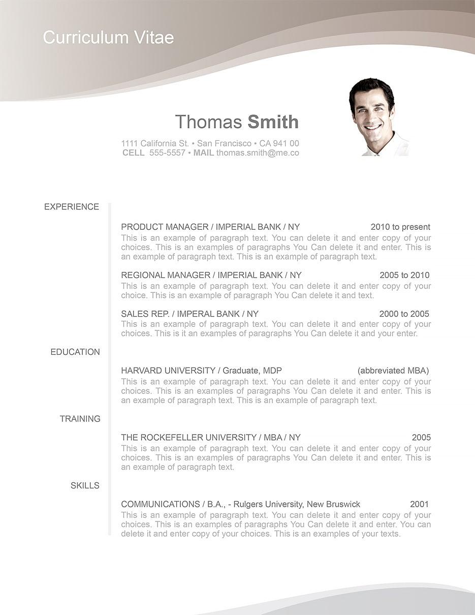 resumeway resume template