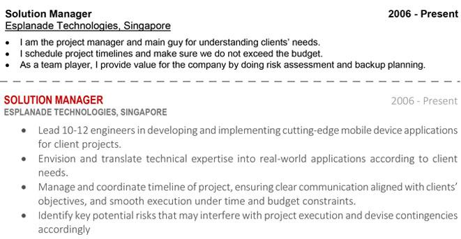 How to Write A Resume \u2013 Singapore Edition ResumeWriterSG