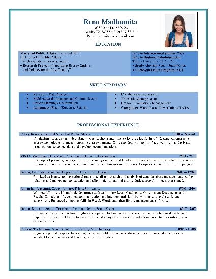 Free Resume Formats Sample Resume Format Resume Templates