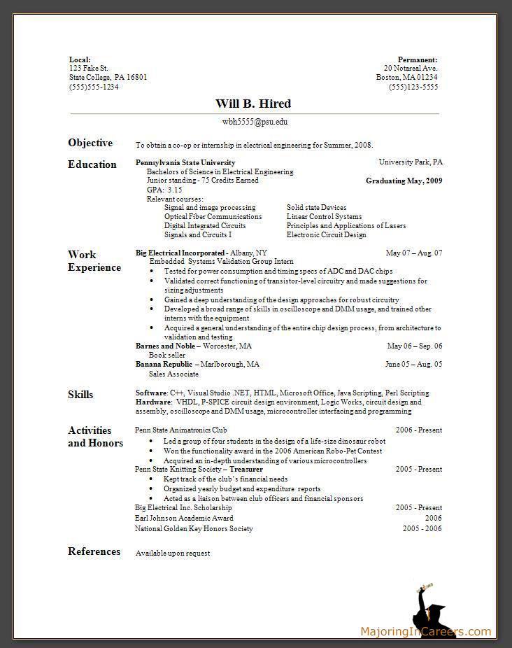 bad high school resume samples perfect resume template perfect resume example