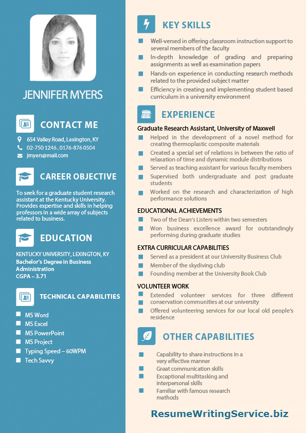 Graduate Student Research Assistant Resume Sample - graduate research assistant resume
