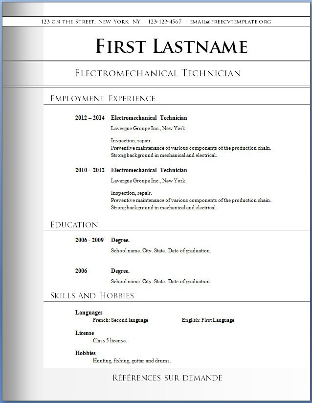 The best executive resume formats