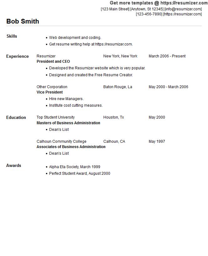 Sample Resume Text Plain Text Cover Letter Sample Mailable Resume Cv Helper  Qhtyp Com Money Magazine
