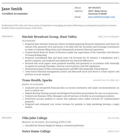 Resume Builder, Cover Letter Templates, CV Maker Resumonk - performance resume template