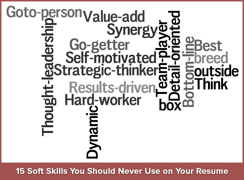 15 Soft Skills You Should Never Use on Your Resume Resumonk - Resume Words For Skills