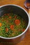 mancare de mazare cu morcovi 1