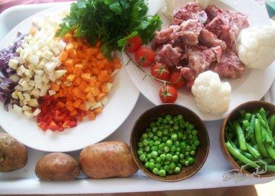 ingrediente ciorba de oase de porc