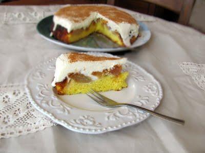 Preparare Prajitura cu mere caramelizate si crema de branza dulce 10