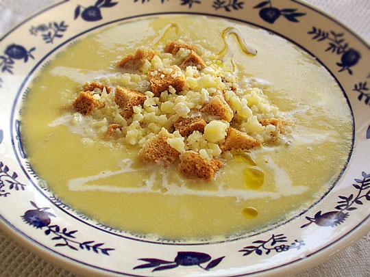 Supa-crema de praz