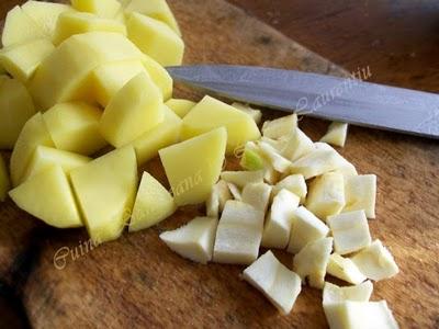 Preparare Supa-crema de praz 2