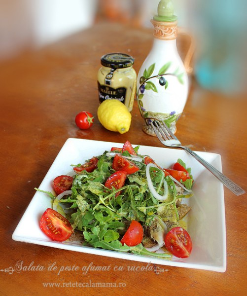 salata de peste afumat cu rucola 2'