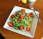 salata de peste afumat cu rucola, reteta culinara