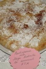 Placinta cu crema de vanilie si pere by Ludmila