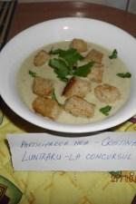 Supa crema de ciuperci by Cristina Luntraru