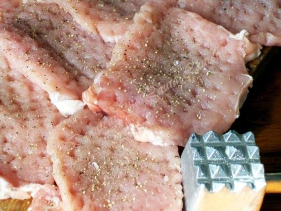 escalop de porc cu ciuperci 1