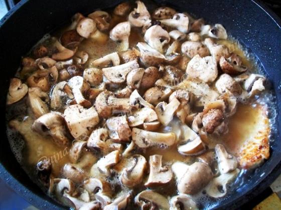 escalop de porc cu ciuperci 5