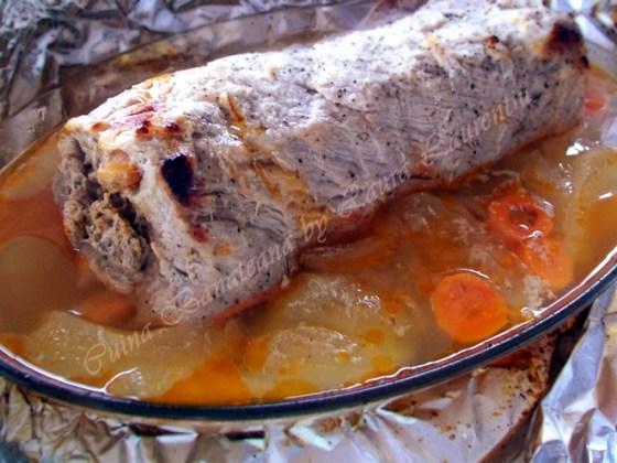 friptura cotlet de porc umplut 8