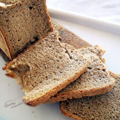Painea mea cea neagra de fiecare zi, in masina de paine
