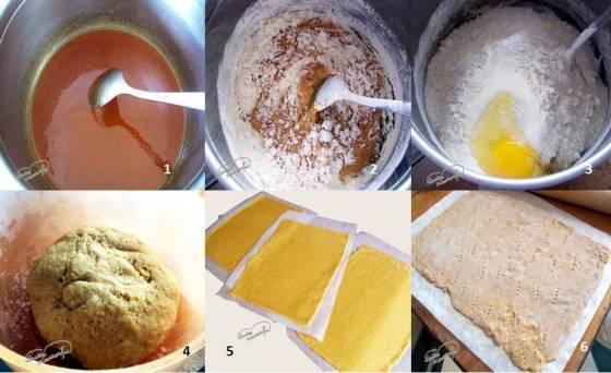 prajitura cu miere de albine foi