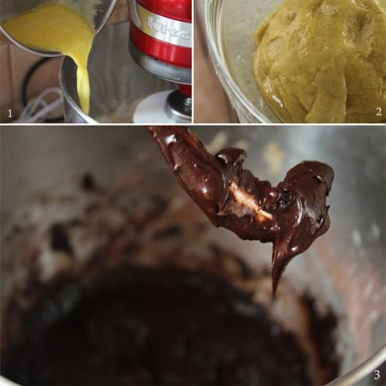 preparare cozonac cu ciocolata