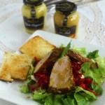 Salata cu muschiulet de porc in crusta de mustar