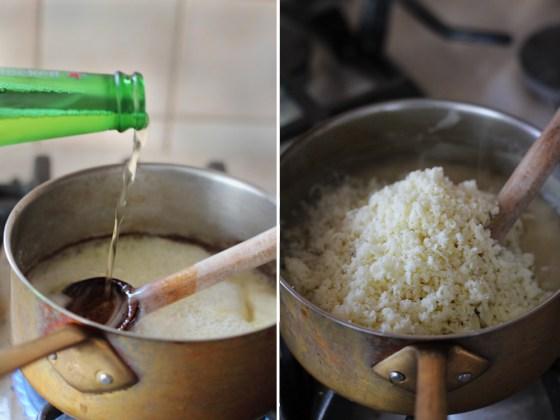 preparare chipsuri de mamaliga cu sos de branza 4
