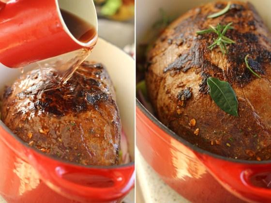 preparare friptura de vita la foc mic 2