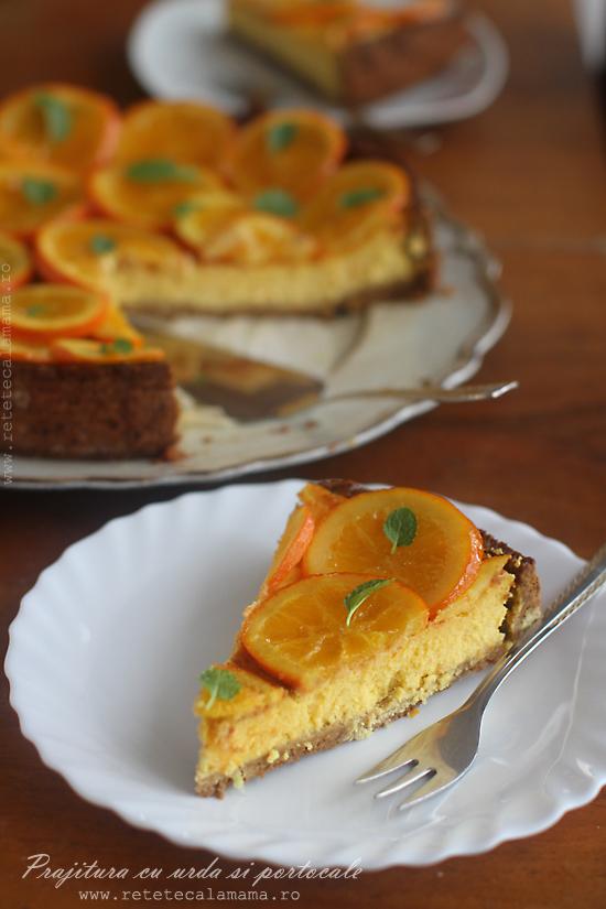 prajitura cu urda si portocale sectiune 1