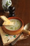 supa crema de napi, topinambur